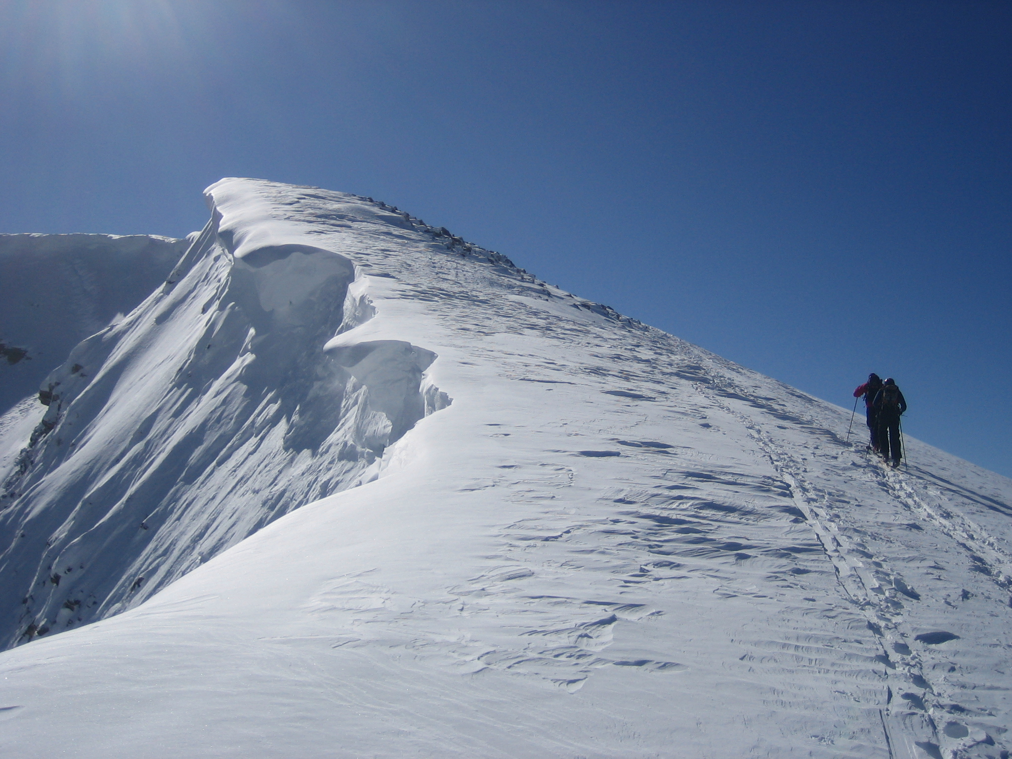 Skinning to the top