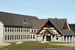 Photo of the White Mountain National Folrest Headquarters.