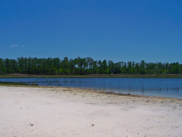 Beach at Clearwater Lake