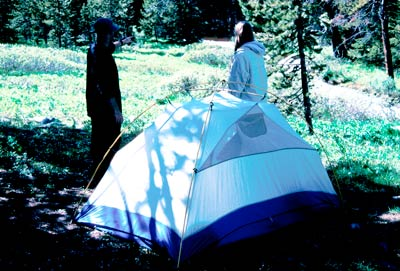 Photo of People Camping with Tent
