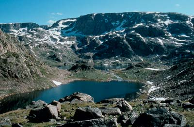 Photo of the Beartooth Wilderness