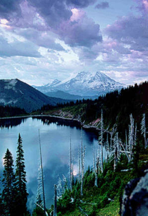 Summit Lake, Clearwater Wildernes, phto by Gary Paull, US Forest Service.