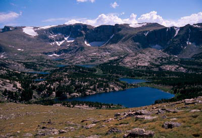Stough Lakes Basin in the PoPo Agie Wilderness