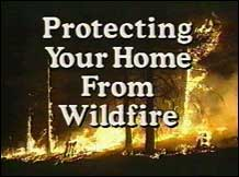 Protecting Your Home From Wildfire Graphic