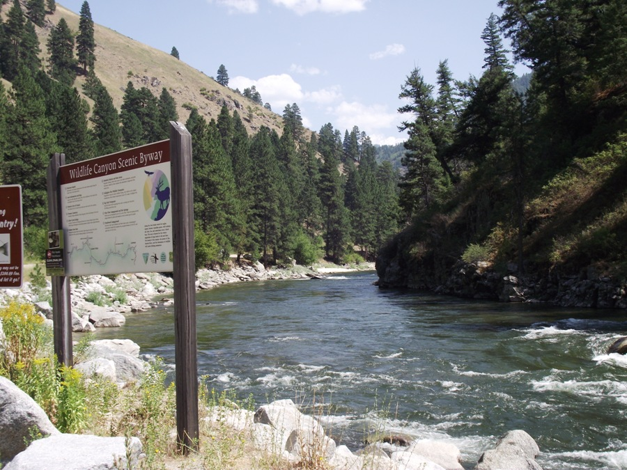 Boise National Forest - Scenic Driving