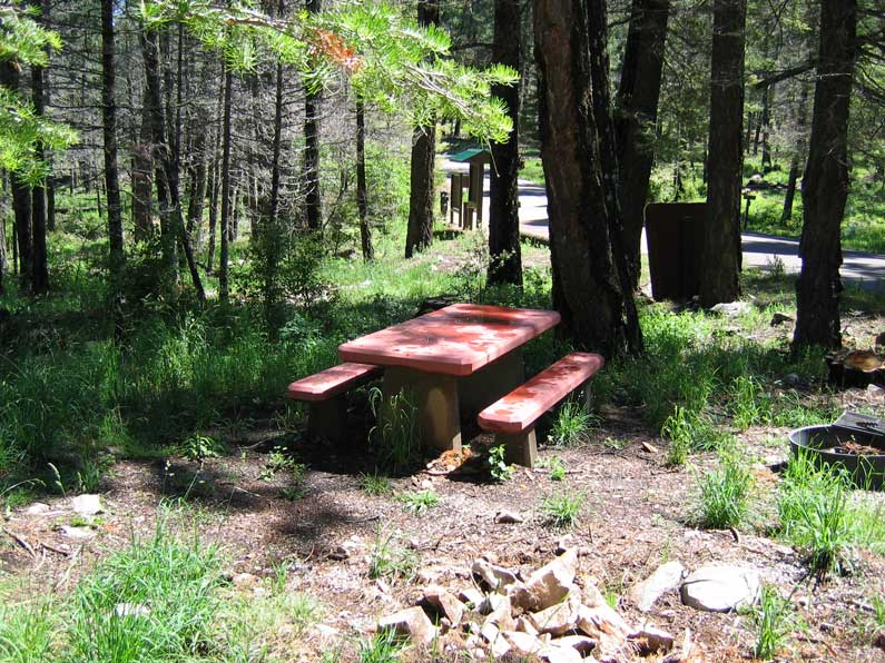 Apache CG - picnic tables