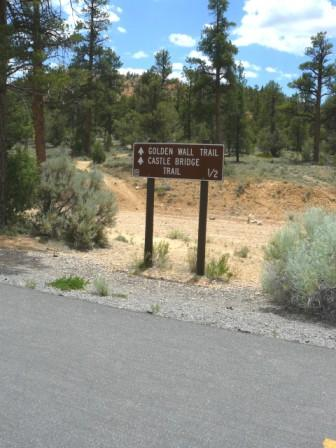 Golden Wall Trailhead