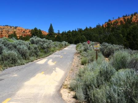 Red Canyon Bicycle Trailhead