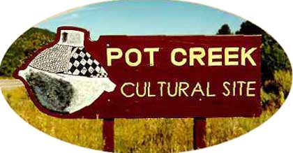 Pot Creek Cultural Site Sign
