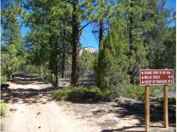 Grand View Trailhead