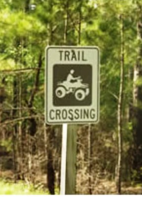 image of trail crossing