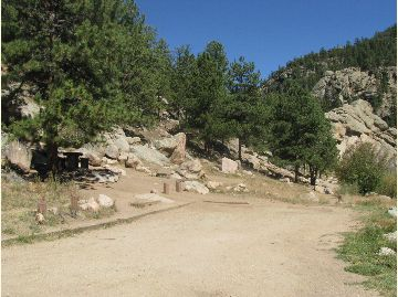 Cove Campground Sites 1 and 2