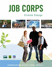 cover of climate change curriculum