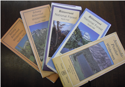 Maps of the Bitterroot National Forest
