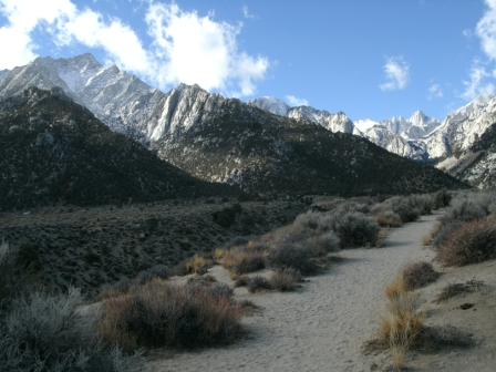 National Recreation Trail, lower portion near Lone Pine Campground