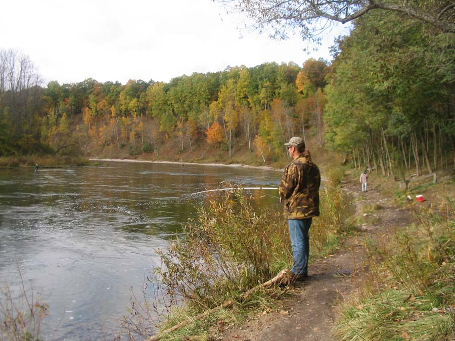 Huron-Manistee National Forests - Fishing:River and Stream