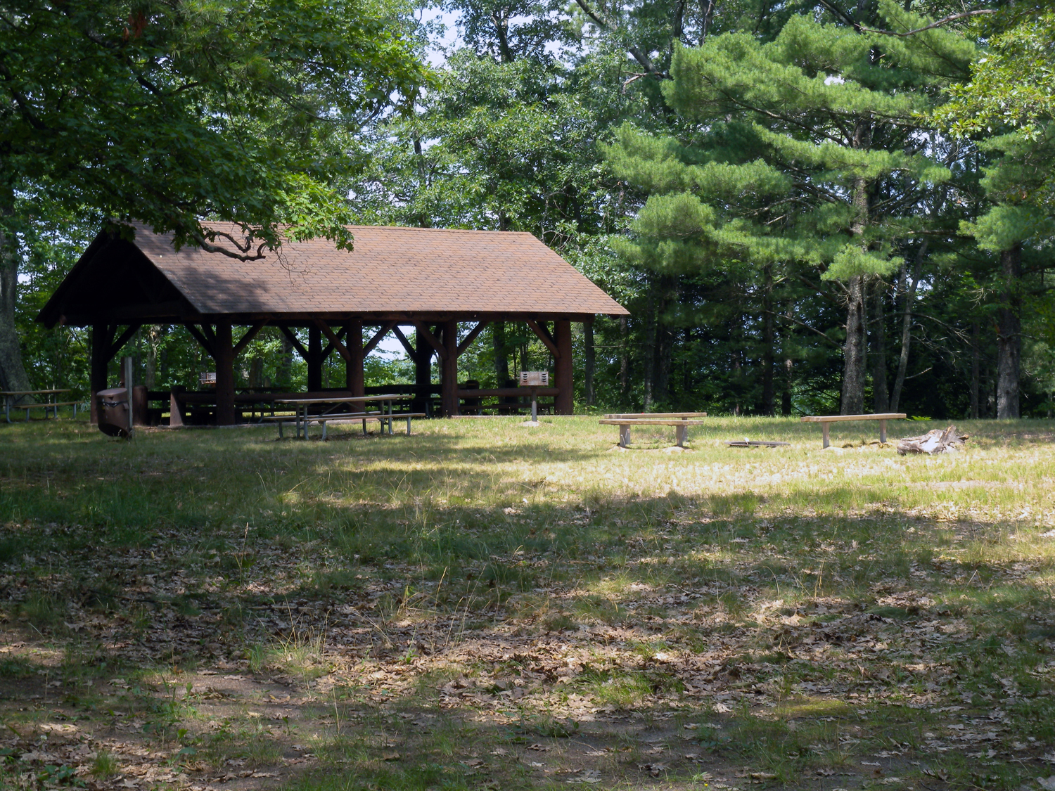 Udell Rollways - group picnic shelter