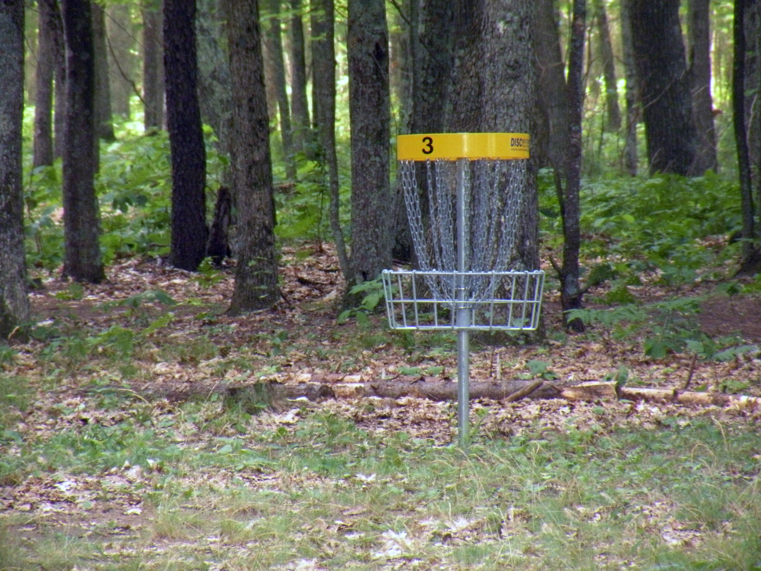Udell Rollways, disc golf course hole 3