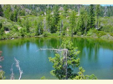 Flat Iron Lake in the Siskiyou Wilderness