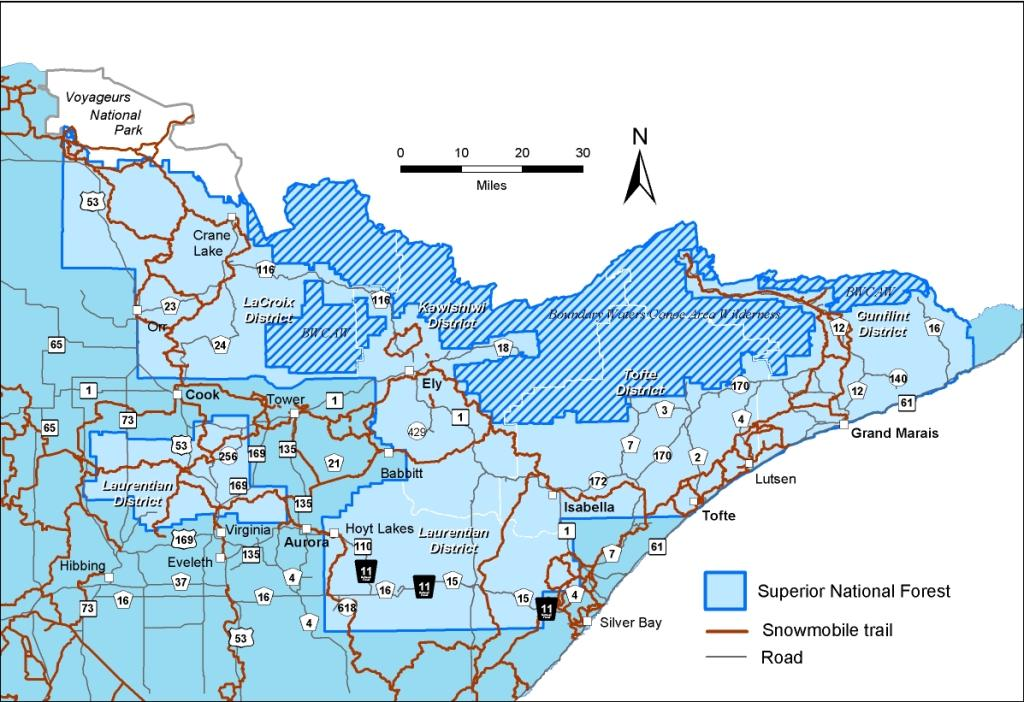 Superior National Forest - Winter Sports:Snowmobiling on mn bike trail map, mn fishing map, mn hiking trails map, mn state map, minnesota snowmobile map, aitkin mn map, mn atv map, mn dnr lake depth maps, mn golf course map, wadena mn map, st cloud mn airport map, remer mn area map, farmington river trail map, city of brainerd mn map, mn boat landing map, nisswa mn map, bemidji mn map, mn horse trail map, mn hunting map, brainerd baxter mn area map,