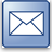 E-mail icon envelope.