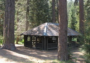 Swauk Campground shelter