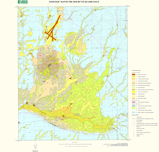 Red Butte Geologic Map