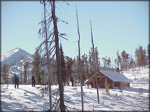 Snow Peak Cabin Rental and Vicinity