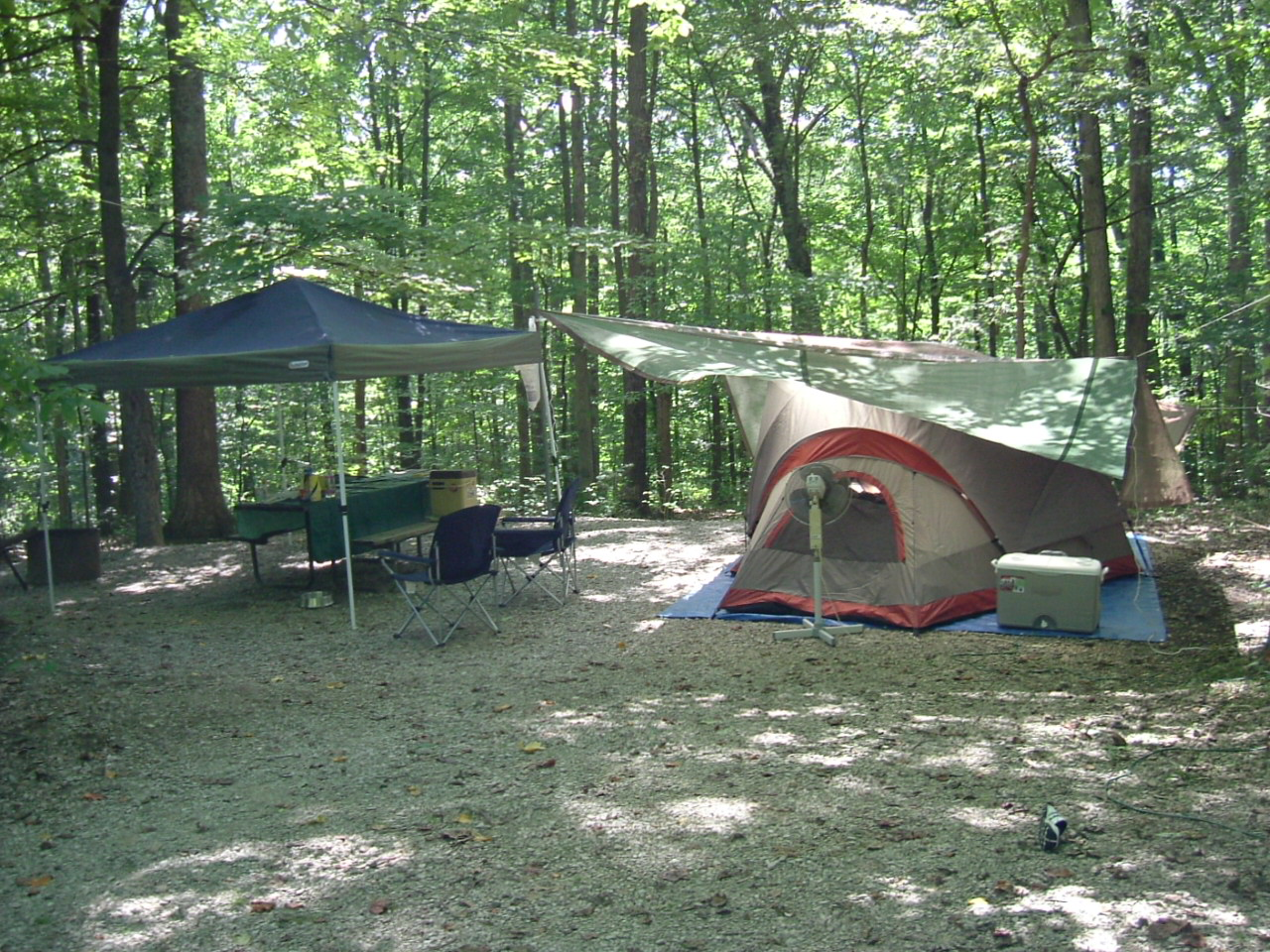 hoosier national forest camping cabins campground camping