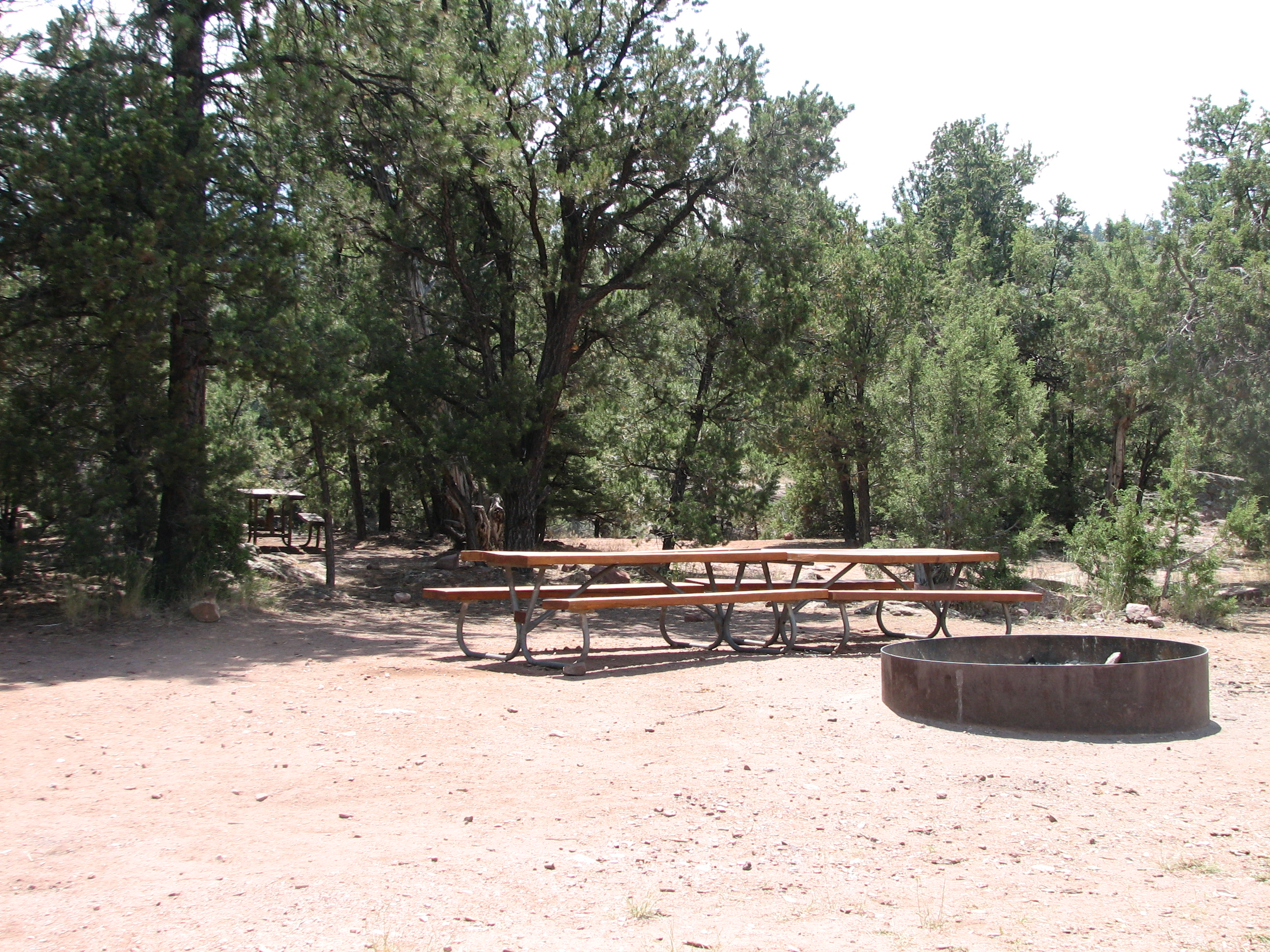 Photo of the Arch Dam Campground