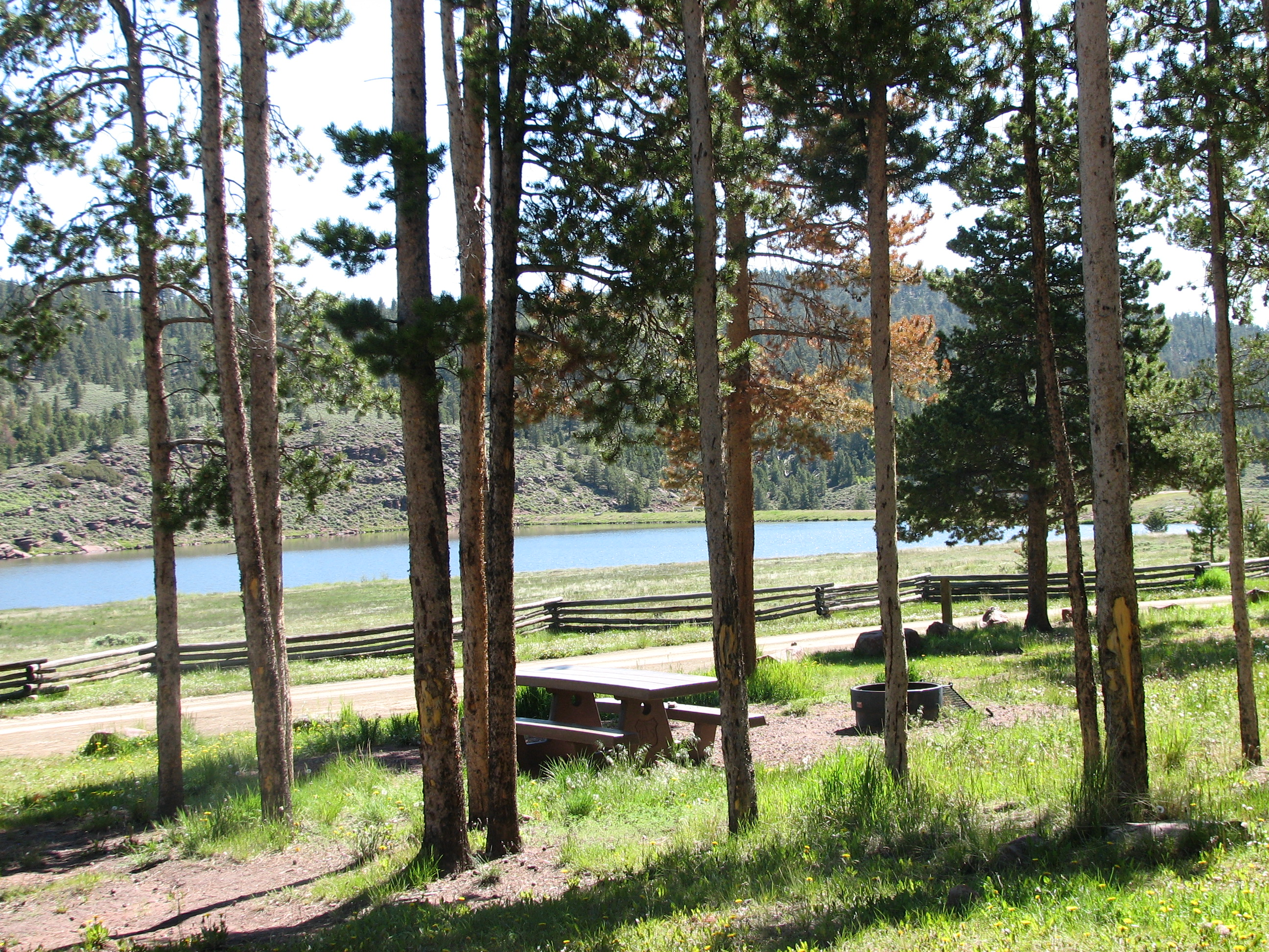 Photo of a Brownie Lake Campground