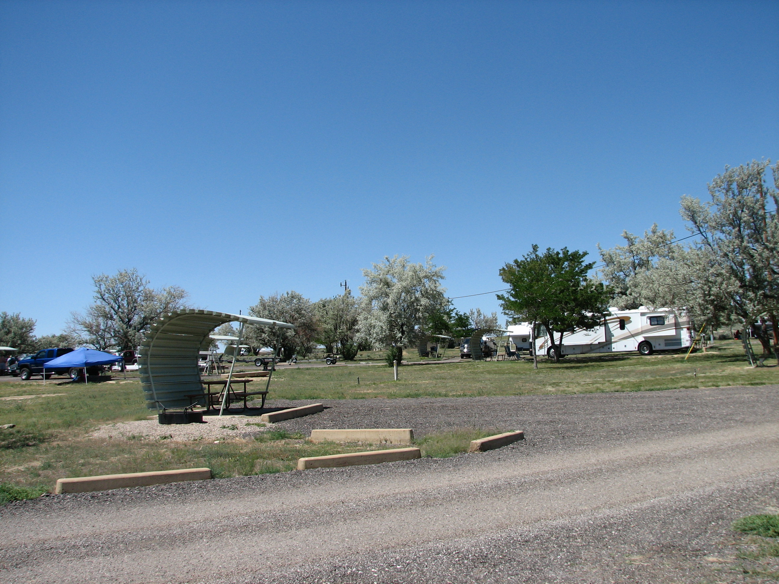 Photo of a campsite at Buckboard Campground.