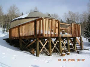 Photo of the Grizzly Ridge Yurt