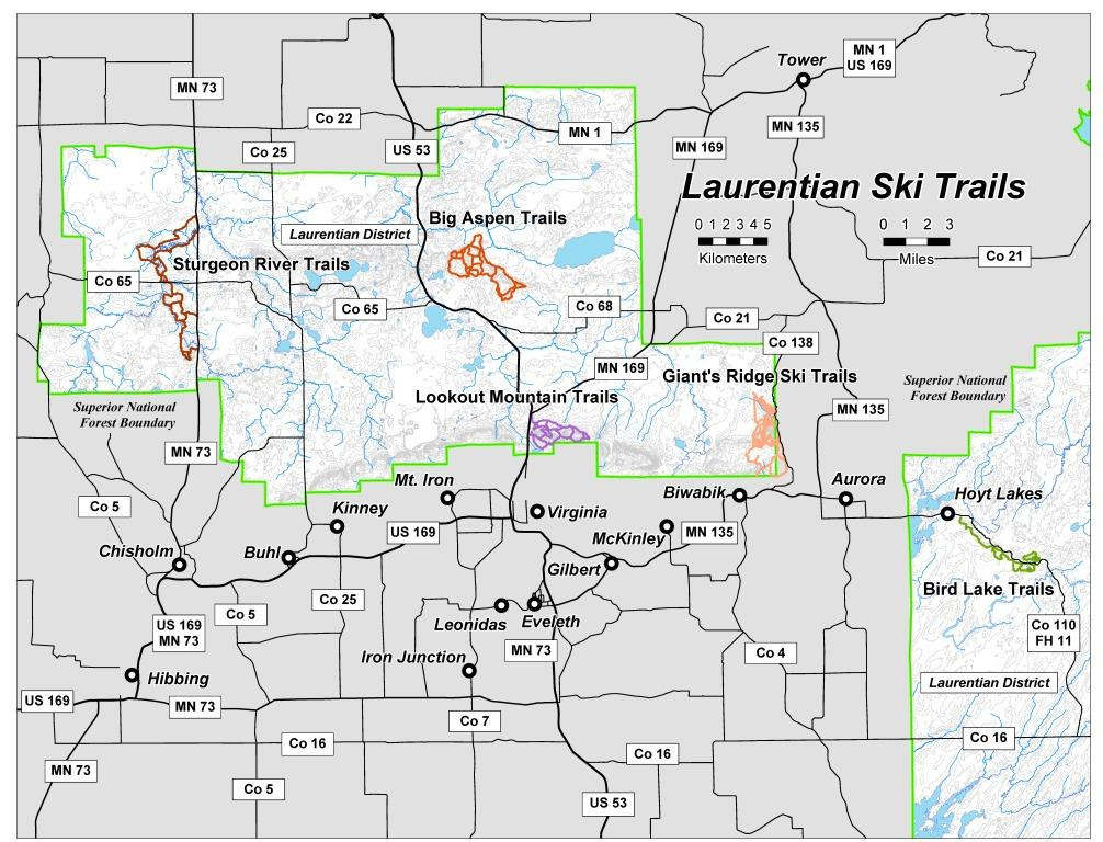 Laurentian XC Ski Trails