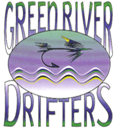 Logo for Green River Drifters.