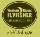 Logo for Western Rivers Flyfisher.