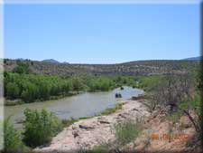 [photo] Verde River from Beasley Flats side on the Prescott NF