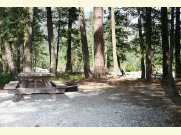 Early Winters Campground Campsite
