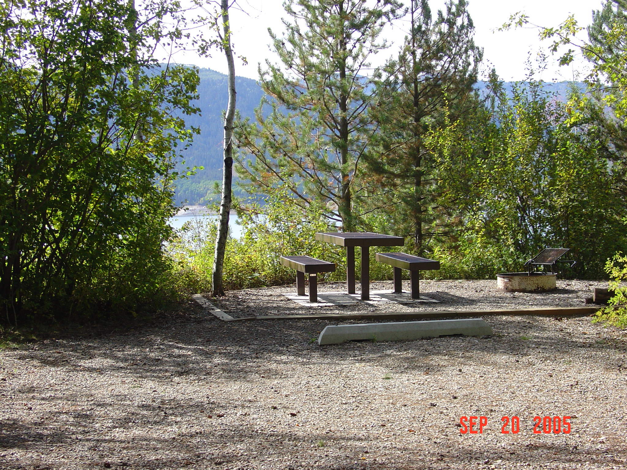 caribou targhee national forest blowout campground