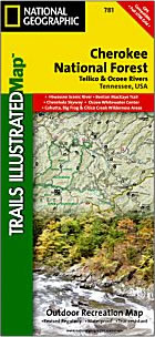 National Geographic Trails Illustrated Map #781