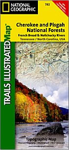 National Geographic Trails Illustrated Map #782