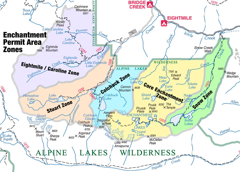 For hikers skunked on Enchantment permits, Lake Ingalls area offers ...