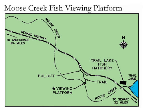 small map of Moose Creek