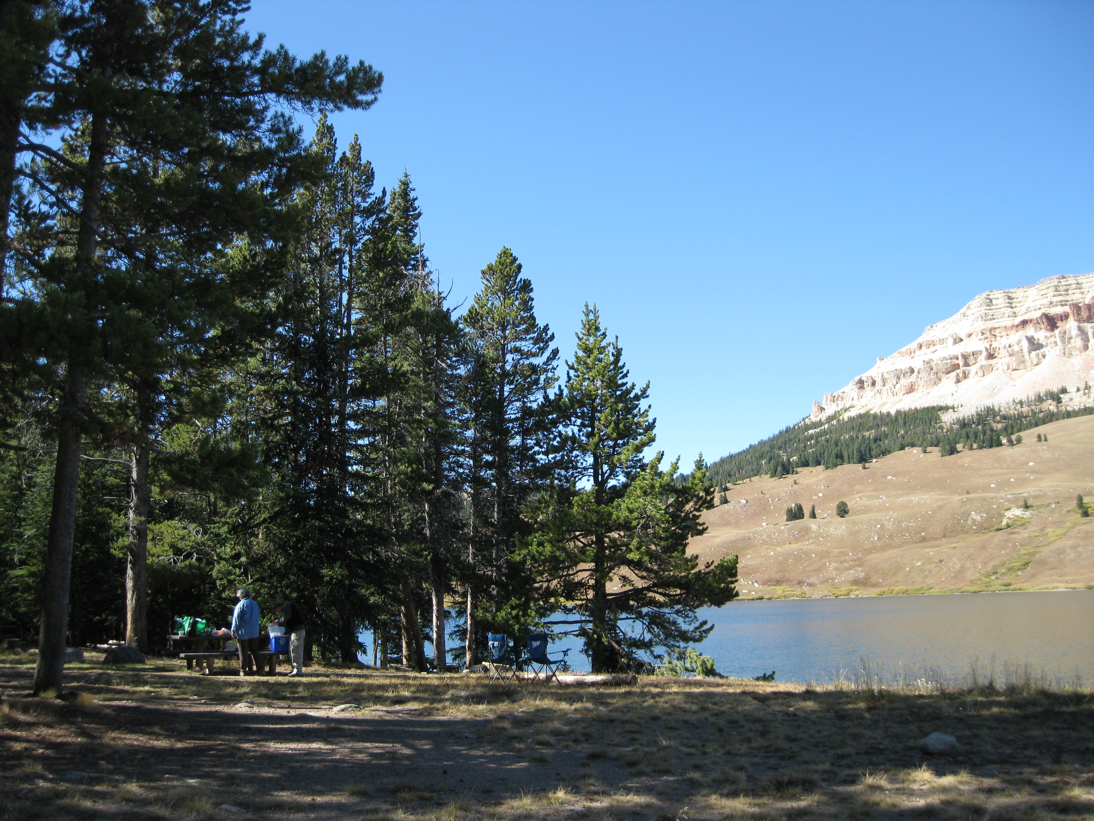 Photograph of Beartooth Lake Campground