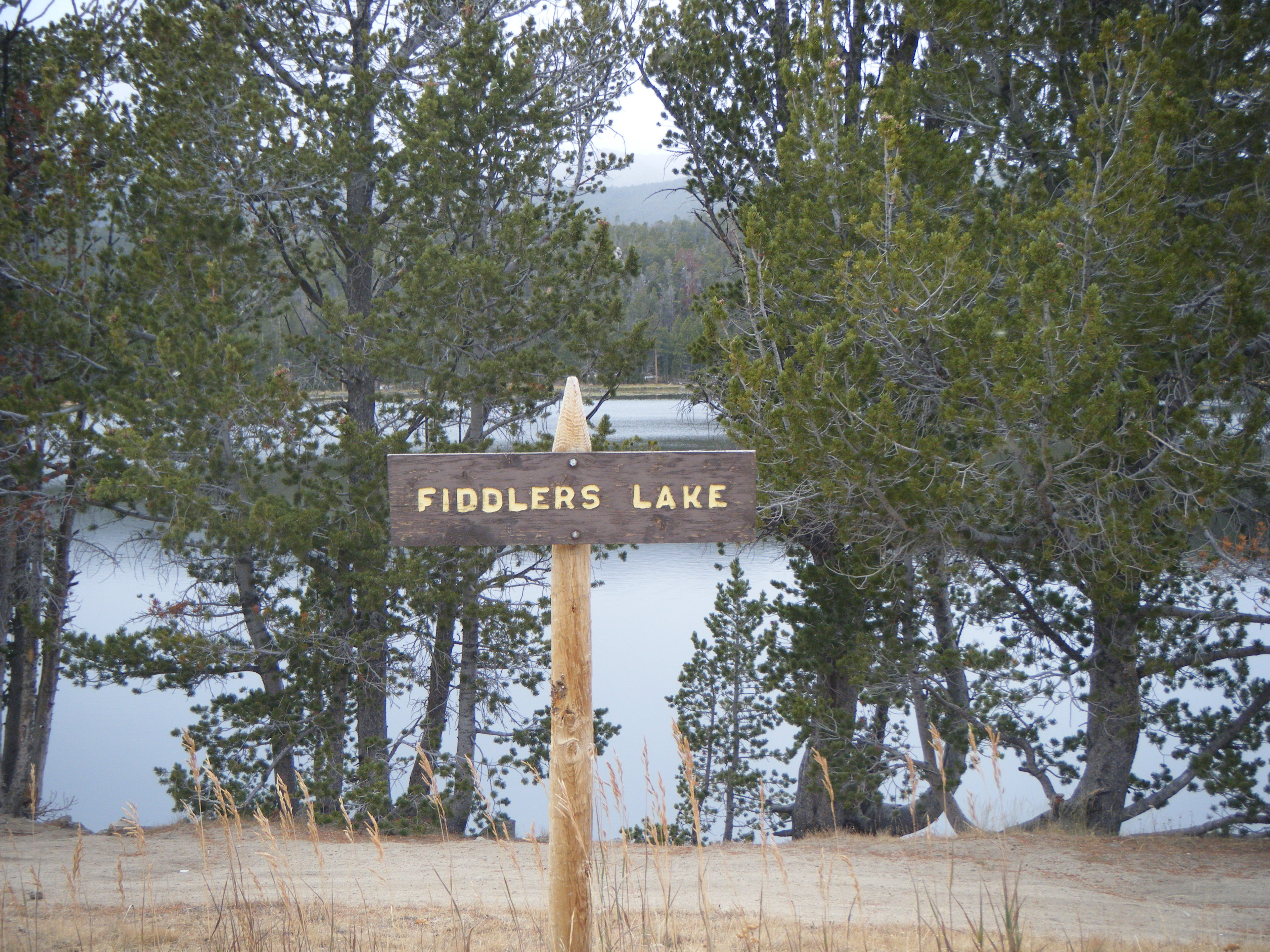 Photograph of Fiddlers Lake