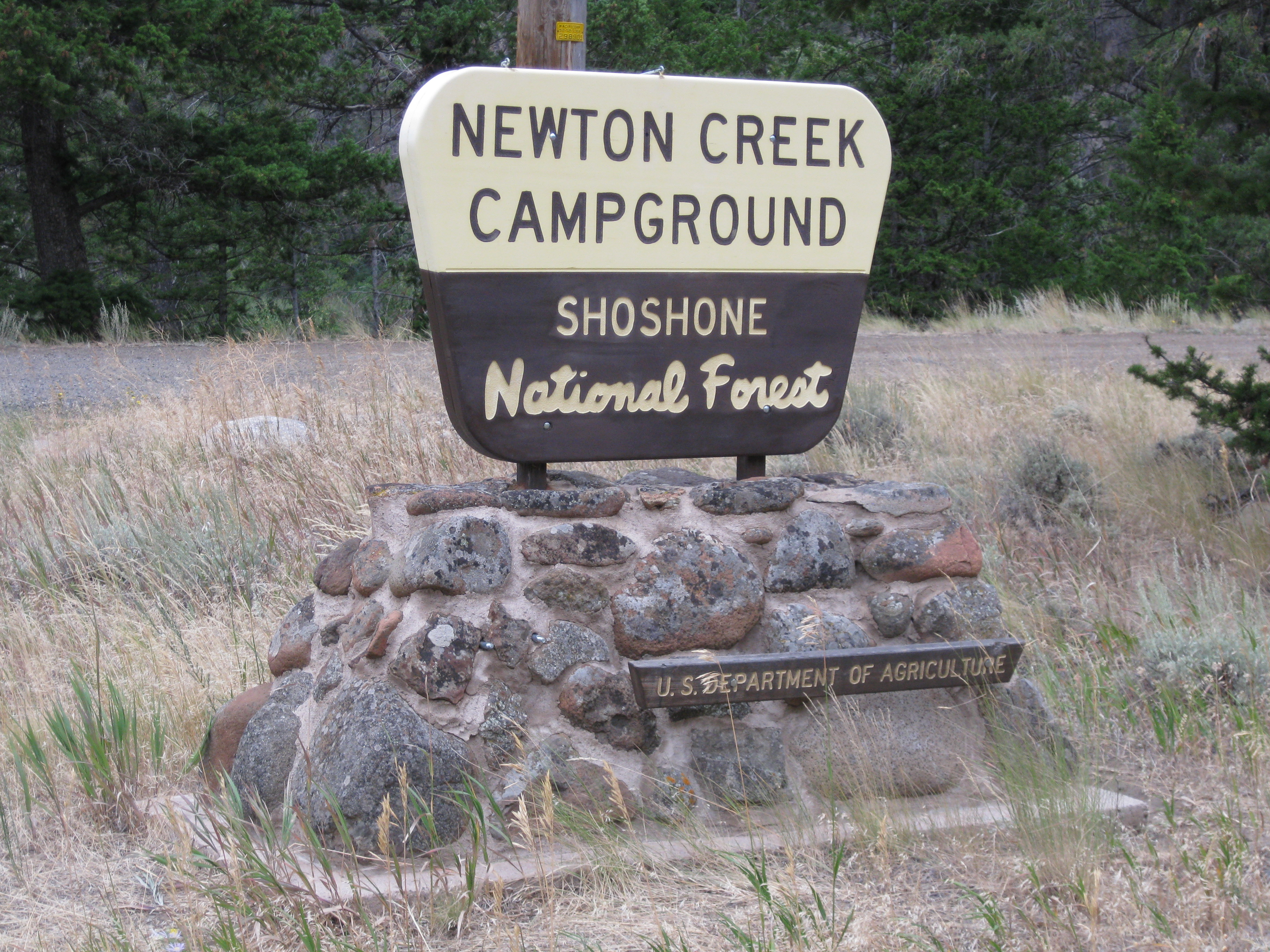 Photograph of Newton Creek Campground