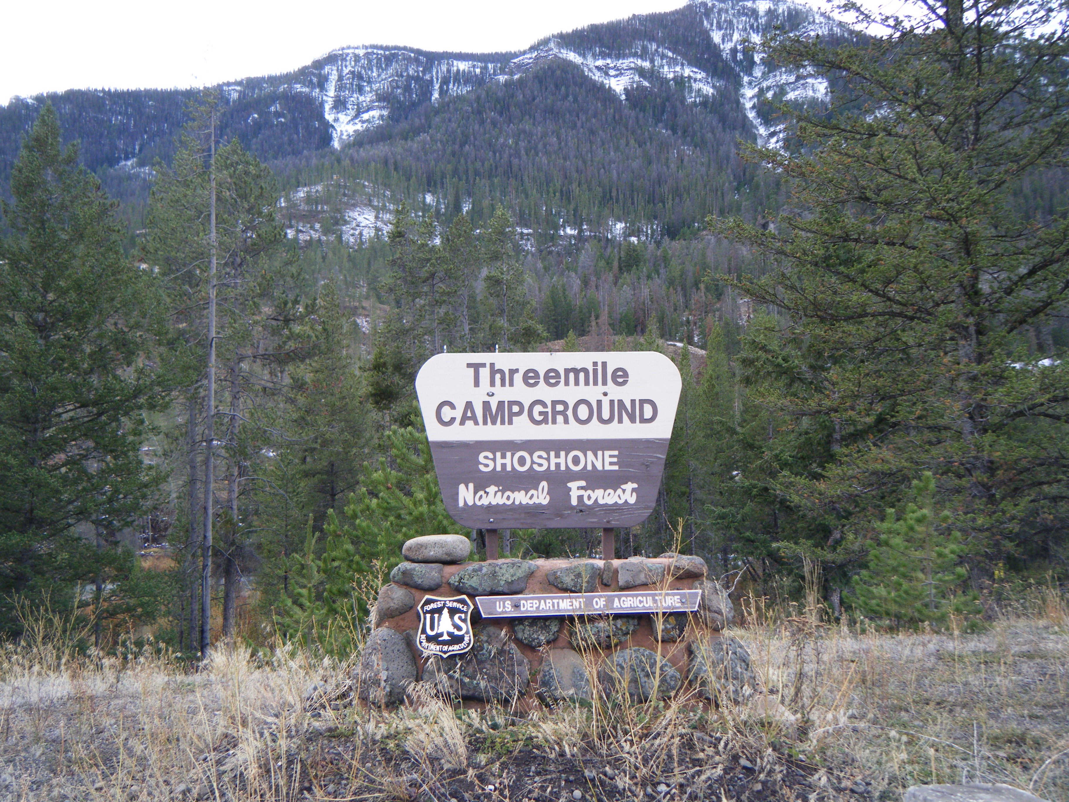 Photograph of Threemile Campground
