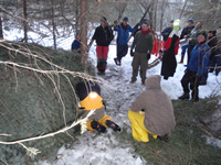 Winter Shelter Practice