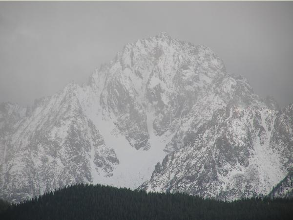 Image of closer look of Mt Sneffles