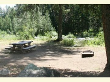Poplar Flat Campground Camping Site